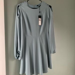 "BCBG Macazria Light Blue ""Bailey"" Dress"